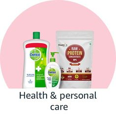Online shopping for Up to off health & household essentials from a great selection at Health & Personal Care Store. Raw Protein, Household, Essentials, Personal Care, Amazon, Health, Self Care, Amazons, Riding Habit