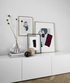 Wohnen Design inspiration and poster picture wall in the bedroom Desenio Your Tip for Calming Fussy