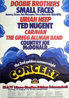 1977: Golden Summernight mit UH