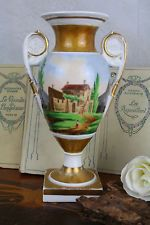 Empire Medici vase french porcelain c Hurricane Glass, Empire, Porcelain, Vase, Antiques, Tableware, French, Home Decor, Antiquities