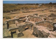 Conimbriga Portugal Benhos Privativos Postcard 458a http://gekoo.co/buy/01/?query=371288305470…