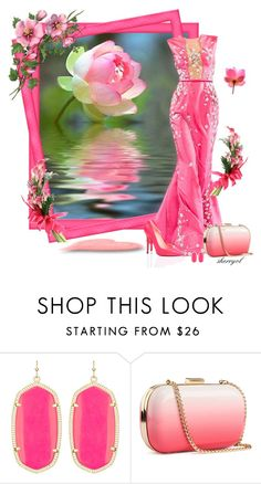 """""""Hot Pink Contest"""" by sherryvl ❤ liked on Polyvore featuring Kendra Scott, H&M and Calle"""