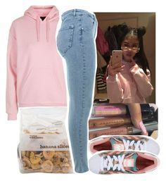 """BTS"" by aribearie ❤ liked on Polyvore featuring Topshop, adidas Originals and Miss Selfridge"
