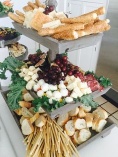 The anatomy of a tiered party platter.... - The Enchanted Home