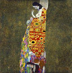Hope...Gustav Klimt (1907-8)