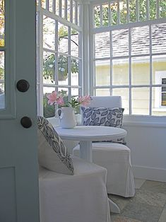Breakfast Nook Design  Pictures  Remodel  Decor and Ideas   page 13Sunroom Decorating and Design Ideas   Sunroom decorating  Sunroom  . Sunroom Decor Ideas. Home Design Ideas