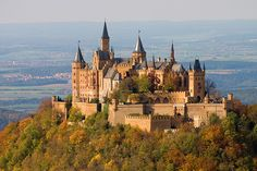 Hohenzollern Castle, Germany - really cool place.