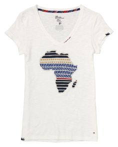 Charity tee from Tommy Hilfiger.