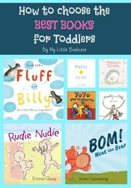 Choosing the BEST Books for Toddlers from My Little Bookcase