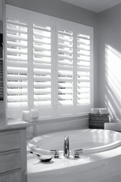Bathroom Shutters, our specialist range of plantation shutters for wetroom and shower room windows are 100% waterproof. Stylish and functional for privacy