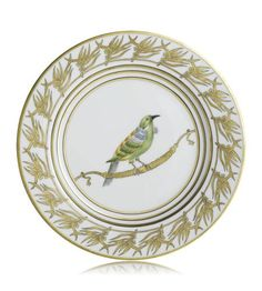 Alberto Pinto - Or Des Airs Buffet Plate #4 Bird