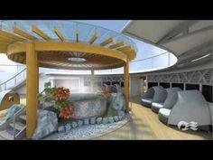 Japanese Bath Video Tour on the Diamond Princess Cruise Ship | Princess ...