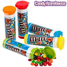 M&M's Minis Candy Tubes: 24-Piece Box M M Candy, Bulk Candy, Candy Store, Candy Bars, Mini M&ms, Wholesale Candy, Favorite Candy, Toys For Girls, Kitchens
