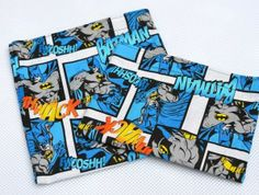 Comic Book Reusable Sandwich and Snack Bags   Geek-a-bye Baby