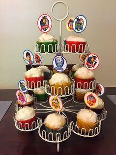 Paw Patrol: FREE printable cupcake toppers!