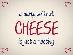 Wir sind der Meinung, dass es auf jeder Party mindestens Käsehäppchen geben sollte. ;) Dann kommt mit Sicherheit Stimmung auf! #cestbon