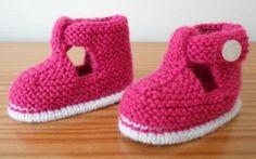 Tuto : Des chaussons salomés pour bébé