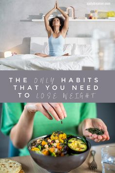 The only habits you will need to lose weight this year are those that foster good eating habits, support your mental health and incorporate exercise. At the start of every new year, countless people set their resolutions along the lines of, 'I want to be skinny this year, I will eat well and go to the gym 4 times a week'. Before the month is even over, these goals are broken because they are not realistic nor do they have the right systems in place to submit your end goal.