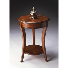 Lowest price online on all Butler Specialty Masterpiece Holden Olive Ash Burl Accent Table - 0992101 Accent Furniture, Living Room Furniture, Kitchen Furniture, Table Furniture, Living Rooms, Round Accent Table, Wood Chest, End Tables With Storage, Nesting Tables