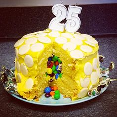 John McCall Architect celebrate 25 years in practice. cake with a sweet surprise! 25th Anniversary, Celebrities, Cake, Sweet, Instagram Posts, Desserts, Food, Candy, Tailgate Desserts