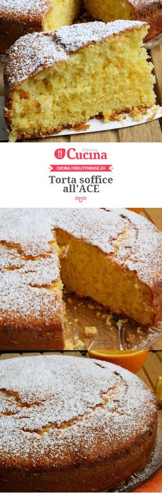 Torta soffice all'ACE
