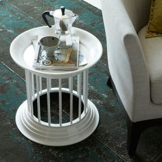Gates Lacquer Side Table - White | west elm a smaller version of the cocktail table. Wondering if we would nest them together next to the sectional?