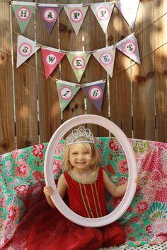 SHABBY CHIC SWEET 16 TEA PARTY & DIY PRINTABLES- birthday banner