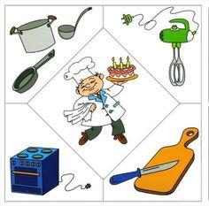 People occupations- a cook (printables! Preschool Jobs, Community Helpers Preschool, Preschool Education, Kids Learning Activities, Preschool Worksheets, Infant Activities, Preschool Activities, Teaching Kids, Kindergarten