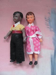 Ari dolls for dollhouse very rare by hetgelehuis on Etsy, $14.00