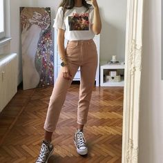 Converse Outfits, Converse Style, Retro Outfits, Trendy Outfits, Cute Outfits, Boy Outfits, Look Fashion, 90s Fashion, Fashion Outfits