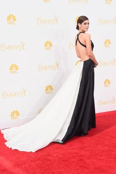 Lizzy Caplan Photos: Arrivals at the 66th Annual Primetime Emmy Awards — Part 2