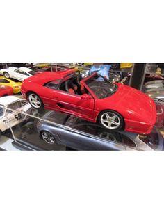 1/18 Diecast Car Ferrari F355 GTS UT Models Metal Model Red Toy by ChasingToyCars on Etsy