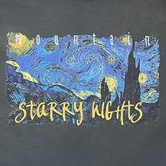 Starry Nights by Van Gogh Inspired T-Shirt