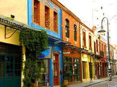 ladadika, Thessaloniki - Jason and I loved discovering this little town in Greece Macedonia Greece, Greece Fashion, Greece Holiday, Modern Metropolis, Thessaloniki, Greece Travel, Where To Go, Athens, Greece