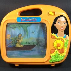 Pocahontas Wind Up Music TV Scroll Motion Story Book Disney Colors Of The Wind