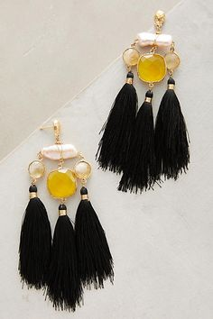 Discover sale jewelry at Anthropologie, including sale choker necklaces, drop earrings, bracelets, watches & more. Tassel Earing, Tassel Jewelry, Bohemian Jewelry, Statement Jewelry, Diy Jewelry, Handmade Jewelry, Fashion Jewelry, Jewelry Design, Jewelry Making