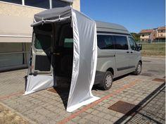 Van Conversion Interior, Camper Van Conversion Diy, Van Interior, Ford Transit Custom Camper, Custom Campers, Kombi Motorhome, Campervan, Iveco Daily 4x4, Tailgate Tent