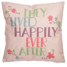 CUSH77 - Cuscino - They Live Happily Ever After 43x43cm | Puckator IT #cushion #complementiarredo #cuscini
