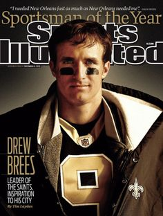 Drew Brees~New Orleans Saints