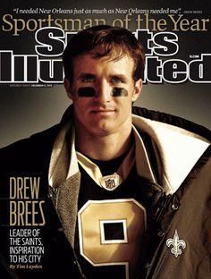 Drew Brees~New Orleans Saints