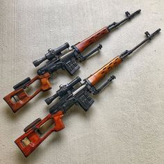 📸 ・・・ Seeing is testing accuracy on their SVD made me drag these babies out of the safe to fondle. are a super accurate marksmen team that do. Zombie Weapons, Weapons Guns, Guns And Ammo, Armas Wallpaper, Cool Nerf Guns, Armas Ninja, Fire Powers, Hunting Guns, Assault Rifle