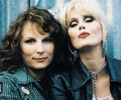 The Absolutely Fabulous Jennifer Saunders & Joanna Lumley sweetie, darlings Patsy And Edina, Jennifer Saunders, Joanna Lumley, Ab Fab, British Comedy, Absolutely Fabulous, Favorite Tv Shows, Favorite Things, Comedians