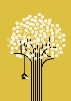 Poster | THE WINTER TREE von Budi Kwan | more posters at http://moreposter.de