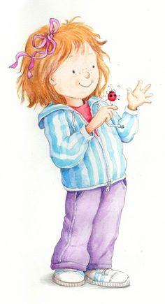 Gill Guile - professional children's illustrator, view portfolio
