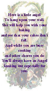 dish towel angel poam