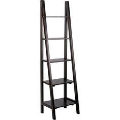 Ladder Bookcase - Solid Pine.