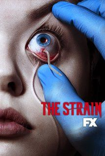 The Strain (2014) Poster. Looks like I have a new favorite show for the summer and it's on Sunday night on FX, so there's no reason to miss it. Guillermo Del Toro seemingly has the ability to see deep inside my nightmares and use what he finds there to scare me on an elemental level. I like that!