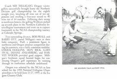 1957-58 Oregon golf team were northern division champs for the 8th straight year. From the 1958 Oregana (University of Oregon yearbook). www.CampusAttic.com
