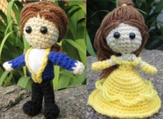 Beast (prince) – from Beauty And The Beast Disney - free crochet pattern