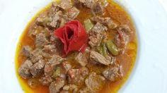 Sebzeli Kuşbaşı Etli Yemek Tarifi Nasıl Yapılır?Sebzeli Kuşbaşı Etli Yemek Tarifi'nin detaylı anlatımı için tıklayın. Ev yapımı kolay et yemek tarifleri.. Crumpets, Beef Caldereta, Le Chef, Trifle, Pot Roast, Carne, Potato Salad, Crockpot, Slow Cooker